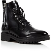 KENDALL and KYLIE Jordana Lace Up Combat Booties