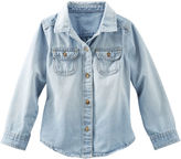 """Osh Kosh Button-Front Denim Top [div class=""""add-to-hearting"""" ] [input type=""""checkbox"""" name=""""hearting"""" id=""""887044728714-pdp"""" data-product-id=""""V_473C546"""" data-color=""""Color"""" data-unhearting-href=""""/on/demandware.store/Sites-Carters-Site/default/Hearting-UnHeartProduct?pid=887044728714"""" data-hearting-href=""""/on/demandware.store/Sites-Carters-Site/default/Hearting-HeartProduct?pid=887044728714&page=pdp"""" /] [label for=""""887044728714-pdp""""][/label] [/div]"""