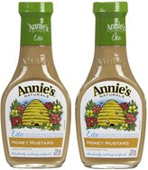 Annie's Homegrown Lite Honey Mustard Vinaigrette
