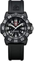 Luminox Men's A.7051 Color Mark Analog Display Swiss Quartz Black Watch