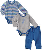 Petit Lem Boys' 3Pc Bodysuit Set