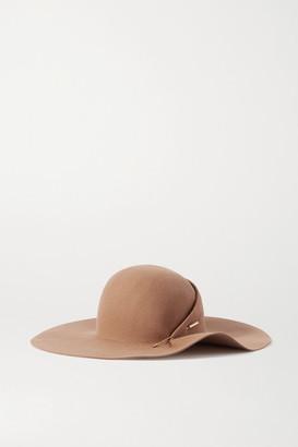 Eugenia Kim Catherine Embellished Wool-felt Hat