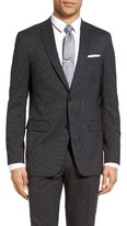 Theory Men's Wellar Trim Fit Stripe Stretch Wool Sport Coat