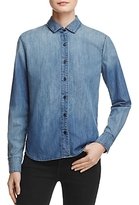 J Brand Azni Embroidered Denim Shirt - 100% Exclusive