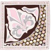 Emilio Pucci Ornate Print Silk Scarf