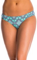Jessica Simpson Swimwear Desert Diamond Side Shirred Hipster Bikini Bottom 8145286