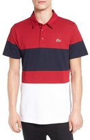 Lacoste Colorblock Ultra Dry Golf Polo