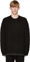 Diesel Black K-Pigris Sweater