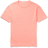 Alex Mill Slub Cotton-jersey T-shirt - Coral