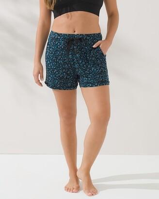Soma Intimates Cool Nights Pajama Shorts with Satin Trim