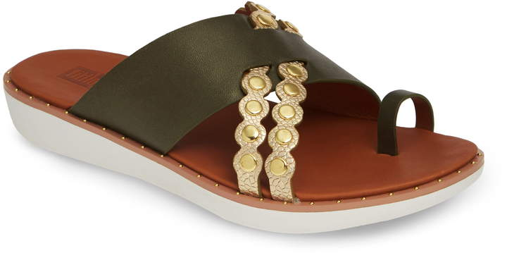 FitFlop Scallop Embellished Slide Sandal