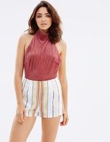 MinkPink Stripe Tailored Shorts