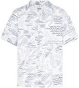 Kenzo Sea print shirt