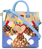 Sophie Hulme albion multi heart shoulder bag - women - Leather/metal - One Size