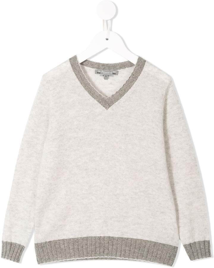 Bonpoint cashmere v-neck jumper