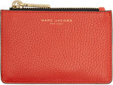 Marc Jacobs Red Gotham Zip Card Holder