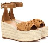 Valentino Garavani Suede platform sandals