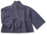 Tea Collection Toddler Girl's Chambray Kimono Jacket