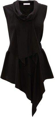 J.W.Anderson Asymmetric Draped Blouse
