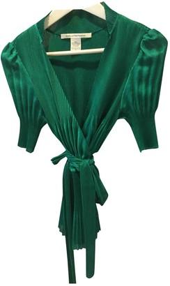 Diane von Furstenberg Green Top for Women