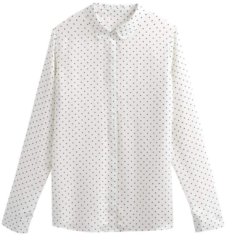 d60aab5bed8 Long Sleeved Polka Dot Top - ShopStyle UK