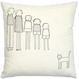 K Studio - 5 Person Family Plus Cat Pillow