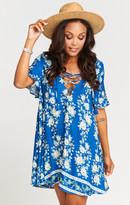 MUMU Rancho Vista Tunic Dress ~ Brunch of Blooms Cruise