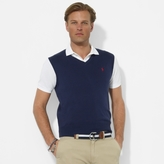 Polo Ralph Lauren Cotton V-Neck Sweater Vest