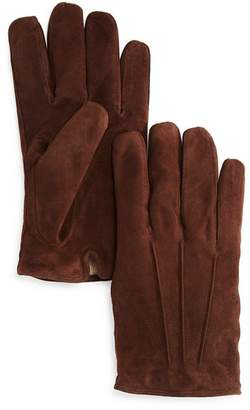 Bloomingdale's The Men's Store at Three-Cord Suede Gloves - 100% Exclusive