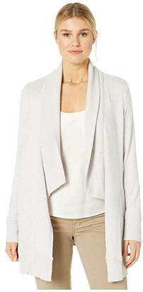 Donna Karan Cozy Robe (Tusk Marl) Women's Robe