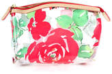 Dooney & Bourke Clear Plastic Floral Clutch Handbag Size Small