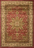 Dynamix Home Royalty 8083-200 Red 5-Feet 2-Inch by 7-Feet 2-Inch Traditional Area Rug
