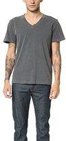 Splendid Mills Men's Pigment Basic V-Neck T-Shirt
