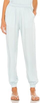 Indah Pierre Solid Easywear Lounge Pant