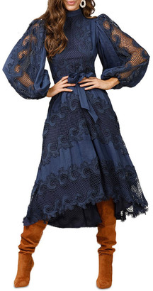 Ministry Of Style Victoriana Lace Midi Dress
