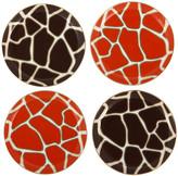 Jonathan Adler Safari Coasters - Set of 4