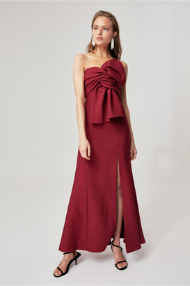 C/Meo Collective EACH OTHER GOWN berry
