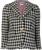 Thom Browne houndstooth scalloped blazer