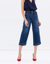Camilla And Marc Winona Cropped Wide Leg Jeans