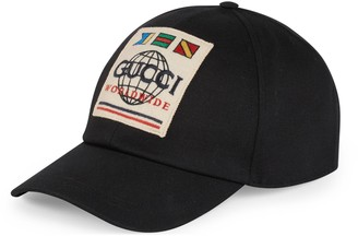 Gucci Baseball hat with Worldwide patch