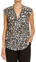 SABA Leopard Print Top