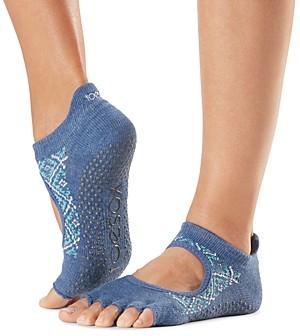 Toesox Bellarina Toeless Grip Barre Socks
