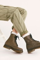 Dr. Martens Pascal Wanama Boot by at Free People, Olive, US 7