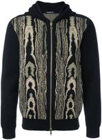Balmain leopard pattern hoodie