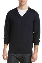 Ben Sherman V-neck Merino Sweater.