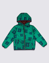 Marks and Spencer Reversible Padded Coat with StormwearTM (3 Months - 7 Years)