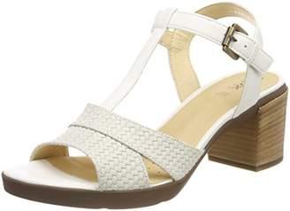 Geox D ANNYA MID Sandal B, Women's T-Bar Heel Sandals