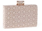 staychicfashion Lace Glittering Chain Evening Clutch Metal Clasp Vintage Wedding Party Handbag Wallet