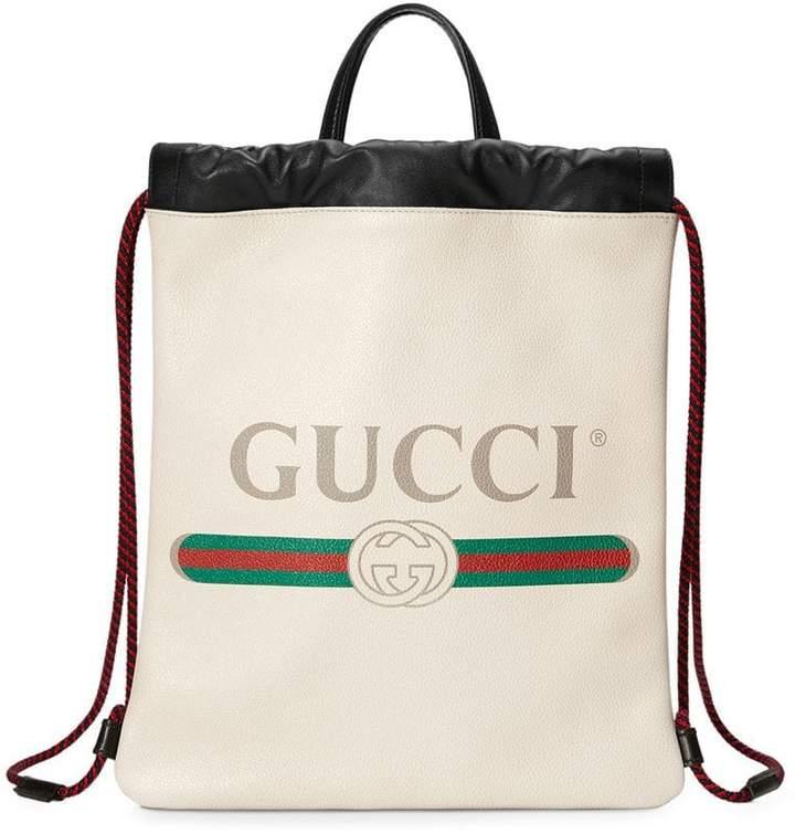 Gucci Print small drawstring