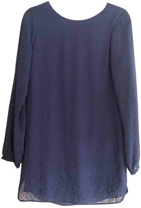 Twelfth St. By Cynthia Vincent Purple Glitter Dress for Women